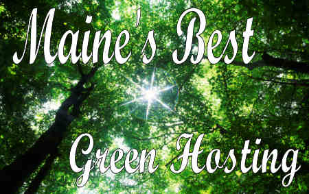 Maine's Best Green Hosting